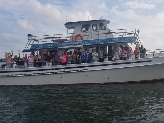 Visit A Paradise Sets Sail with Cortez Deep Sea Fishing Tours