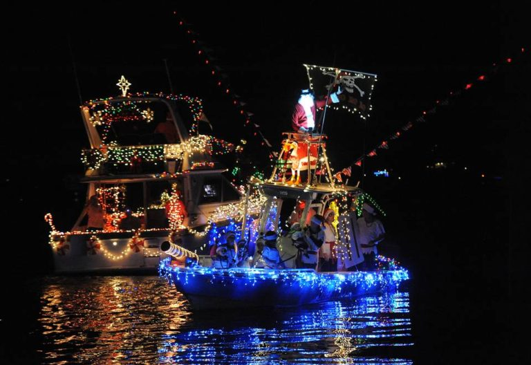Manatee Holiday Boat Parade